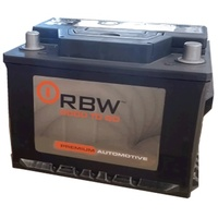 DIN55 CASE SIZE 500CCA RBW AUTOMOTIVE Flooded Starting Battery