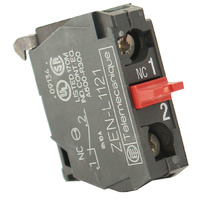 CONTACT BLOCK N/C 240V 3AMP SUIT EMERGENCY STOP SWITCH AEO-0511, AEO-0512