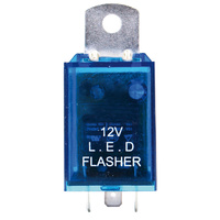 LED WIG WAG FLASHER 12V 3 PIN 0.1 - 130 WATT
