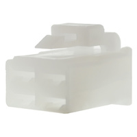 4 WAY PLUG CONNECTOR 100 PACK WHITE HOUSING