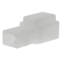 1 WAY SOCKET CONNECTOR 10 PACK WHITE HOUSING