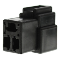 3 WAY SOCKET CONNECTOR 10 PACK BLACK HOUSING