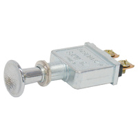 SWITCH PUSH PULL 75AMP @ 12V 2 POSITION OFF, ON HEAVY DUTY 2 SCREW TERMINALS