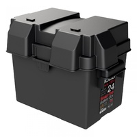 NOCO BATTERY BOX SNAP TOP HM300BK SUITS NS70/N50ZZ CAR OR BOAT BATTERY GROUP 24