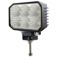LV Automotive Rectangle LED Work/Flood Light 18W 9-36V 950 Lumens IP67 110mm