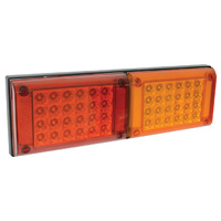 LV Automotive Double LED Jumbo Stop/Tail & Inticator Lamp 10V-30V 400x131x37 Sold Each