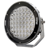 "TITAN SERIES 9"" Driving Light LED Spot Beam 225W 9-32V 18000 Lumens IP68 220mm"