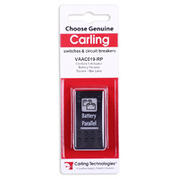 CARLING CONTURA II ACTUATOR BATTERY PARALLEL WHITE SQUARE AND BAR LENS