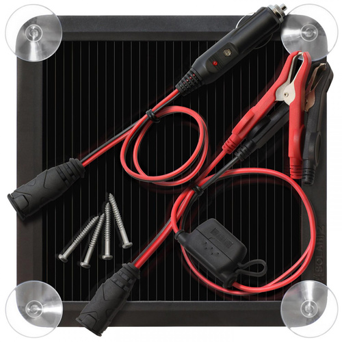 NOCO 2.5W SOLAR CHARGER KIT BLSOLAR2